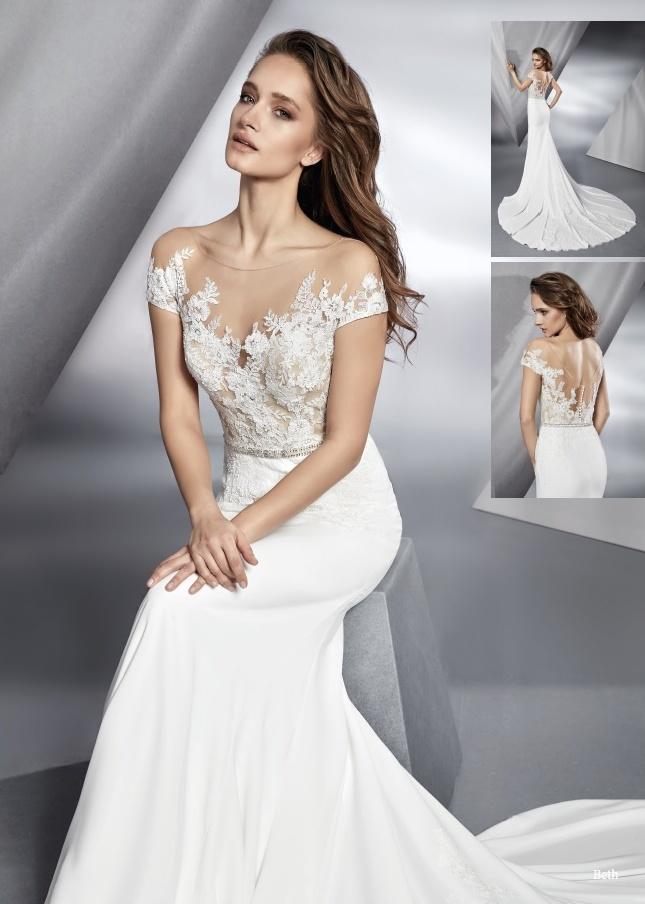 Svatební šaty BETH 373ec289b6
